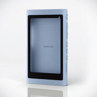 ELECOM - SONYウォークマンNW-A50,40,30シリーズ用シリコンケース ブルー