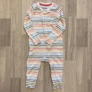 ベビーギャップ(babyGAP)の長袖 ジップアップ カバーオールです(カバーオール)