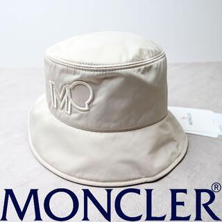 モンクレール(MONCLER)の新品 2021SS 100% 本物 正規品 MONCLER ロゴ バケットハット(ハット)