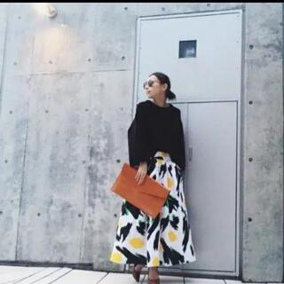 アメリヴィンテージ(Ameri VINTAGE)のAMERI SARA'S PAINT SKIRT 7〜9号(ひざ丈スカート)