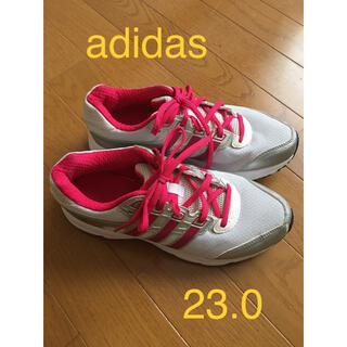 アディダス(adidas)のアディダス ランニングシューズ 23.0 美品(シューズ)