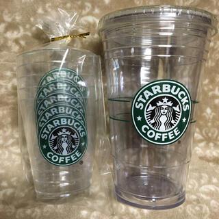Starbucks Coffee - 【旧ロゴ】タンブラー&コーヒージェリーカップ スターバックス☆スタバ