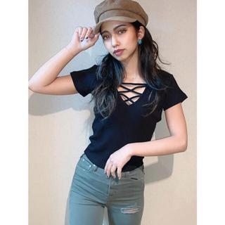 GYDA - GYDA 2WAYバインダーTシャツ (ブラック)