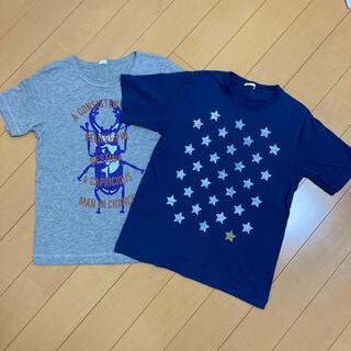 ジーユー(GU)のTシャツ 半袖 ジーユー GU 男の子 男児 150  2枚セット(Tシャツ/カットソー)