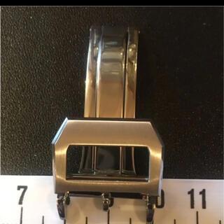 インターナショナルウォッチカンパニー(IWC)の腕時計 社外 高級ステンDバックル 18mm用(金属ベルト)