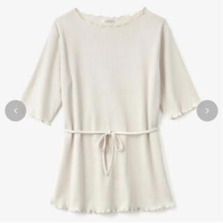 シマムラ(しまむら)のしまむら てら terawear emu 紐付き メロウ Tシャツ (Tシャツ(半袖/袖なし))