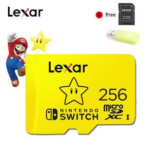 ニンテンドー Switch用 256GB マイクロSDカード アダプターセット