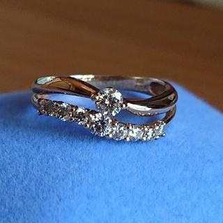 JEWELRY TSUTSUMI - ダイヤモンドリング 0.5カラット K18YG