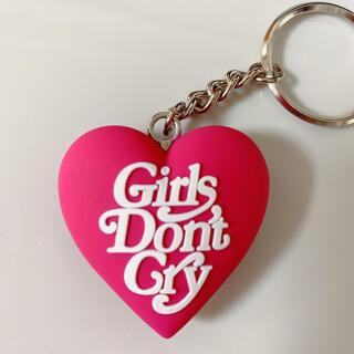 ジーディーシー(GDC)の女子人気ピンクgirls don't cryGDC HEART KEYCHAIN(キーホルダー)