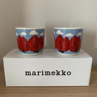 marimekko - マリメッコ マンシッカヴォレット ラテマグ  マグカップ 北欧