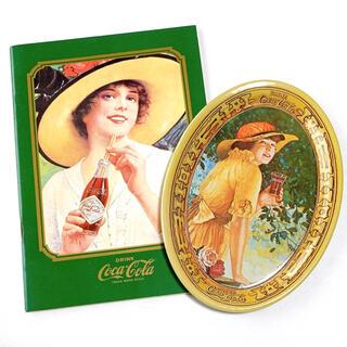 コカコーラ(コカ・コーラ)のコカ・コーラ トレー ノート セット コカコーラ アメリカン雑貨(小物入れ)