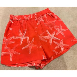 ロンハーマン(Ron Herman)の着用1度のみ ANNIE  GRIFFIN スターフィッシュ ショートパンツ(ショートパンツ)