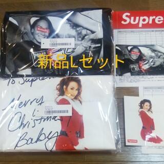 Supreme - [新品Lセット販売]supreme マライアtee アンチヒーローIce Tee