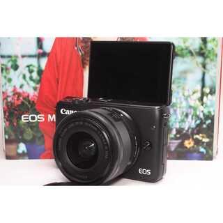 キヤノン(Canon)の❤️Wi-Fiでシェア&自撮り❤️Canon EOS M10 レンズキット(ミラーレス一眼)