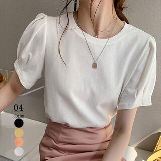 ★新品★Tシャツ 半袖 カットソー 韓国ファッション(Tシャツ(半袖/袖なし))