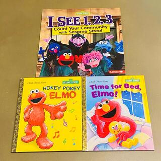 セサミストリート(SESAME STREET)のりりんご様専用出品 3冊セット(絵本/児童書)