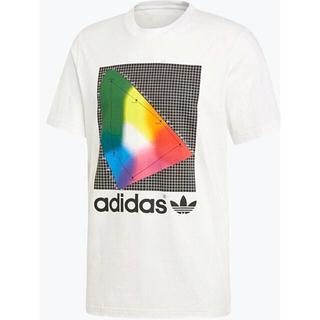 アディダス(adidas)のアディダス オリジナルス メンズ スペクトラム 半袖 Tシャツ  Lサイズ(Tシャツ/カットソー(半袖/袖なし))