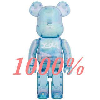 MEDICOM TOY - 新品未開封 X-girl BE@RBRICK 2021 1000%