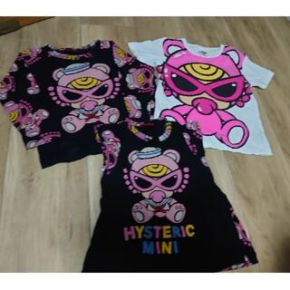 HYSTERIC MINI - ヒスミニ ロンT チュニック Tシャツ セーラー テディ アースマジック JAM