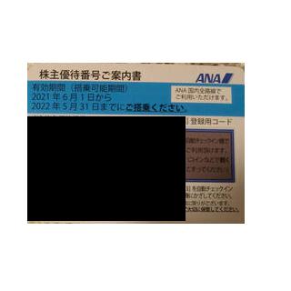 ANA株主優待券1枚(航空券)