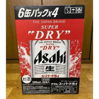 アサヒ - アサヒスーパードライ ビール 350ml 24本セット 24缶セット 未開栓
