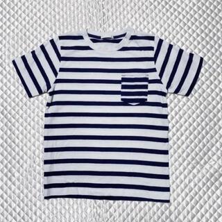 ジーユー(GU)のボーダーTシャツ(Tシャツ/カットソー)