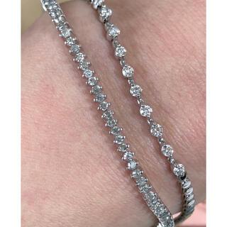 プラチナ ダイヤモンド ブレスレット pt850