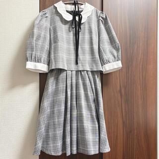 ロジータ(ROJITA)の【最安値】襟付きリボンワンピース(ミニワンピース)
