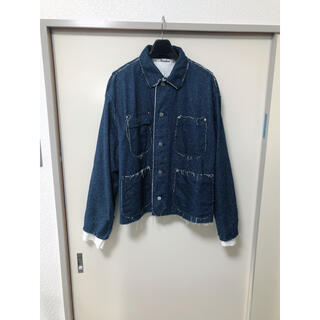 SUNSEA - midorikawa シルクデニムジャケット