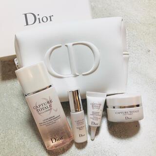 Christian Dior - Dior /カプチュールトータルセルENGYディスカバリー ホワイトポーチセット