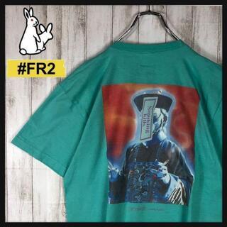 【即完売モデル】 FR2 キョンシー 月桃 奇抜 クレイジーロゴ Tシャツ 希少