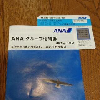 ANA 株主優待券 割引券 1枚(航空券)