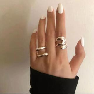 Ameri VINTAGE -  2個セット ring 指輪 silver925 アクセサリー