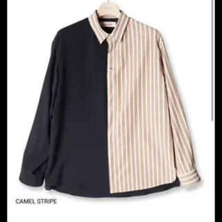 STUDIOUS - 【人気】クルニ バイカラーシャツ サイズ2