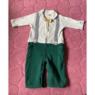 プティマイン(petit main)のベビー服(カバーオール)