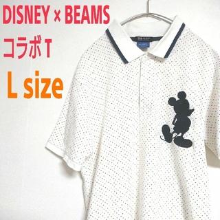 ディズニー(Disney)のDisney × BEAMS ディズニー × ビームス 限定コラボ  ポロシャツ(ポロシャツ)