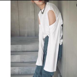 jonnlynx - 《新品》fumika_uchida カットソー White  Mサイズ