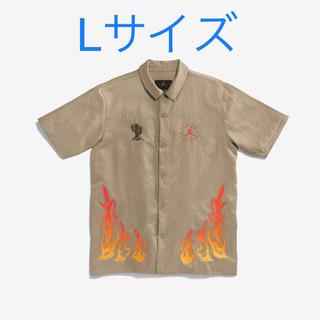 NIKE - Jordan × Travis Scott Button Down Shirt