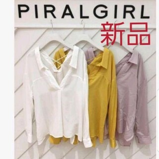 スパイラルガール(SPIRAL GIRL)のスパイラルガール シャツ(シャツ/ブラウス(長袖/七分))