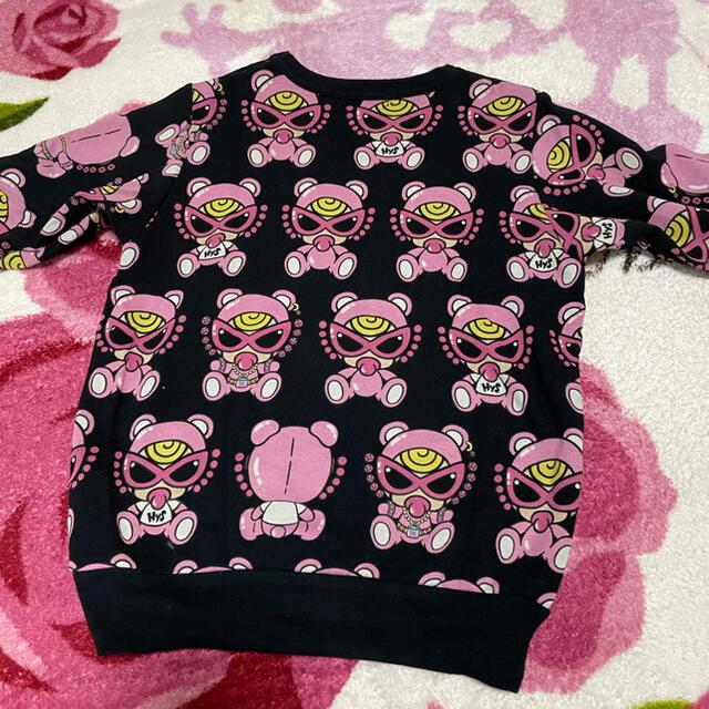 HYSTERIC MINI(ヒステリックミニ)の専用🧡テディトレーナー キッズ/ベビー/マタニティのキッズ服女の子用(90cm~)(Tシャツ/カットソー)の商品写真