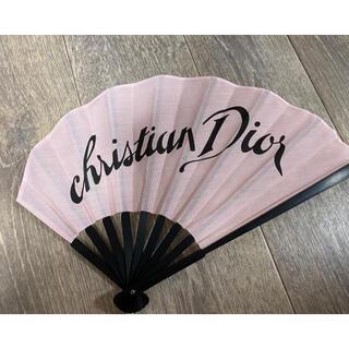 クリスチャンディオール(Christian Dior)のクリスチャンディオール/ChristianDior/扇子/非売品(ノベルティグッズ)