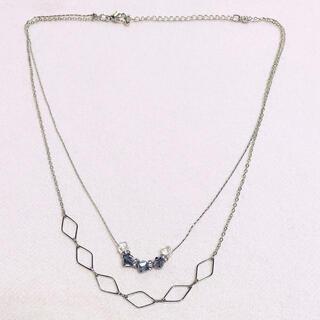 ザラ(ZARA)の2連ネックレス(ネックレス)