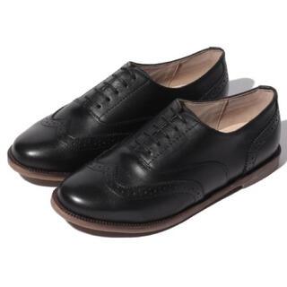 サマンサモスモス(SM2)の新品未使用 SM2 レザーウイングチップシューズ ローファー レザー(ローファー/革靴)