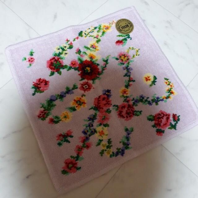 FEILER(フェイラー)のフェイラー ハンカチ JAL コラボ 新品 レディースのファッション小物(ハンカチ)の商品写真