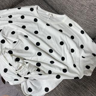 マウジー(moussy)のmoussy水玉シャツ⭐️(Tシャツ(半袖/袖なし))