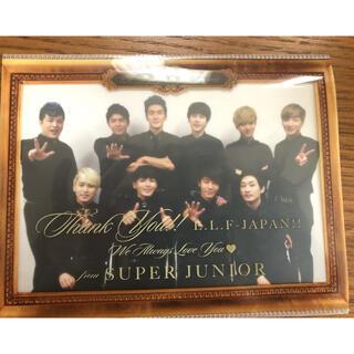 スーパージュニア(SUPER JUNIOR)のsuper junior(アイドルグッズ)