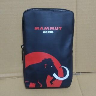 Mammut - 【未使用】MAMMUT×BE-PAL コラボ 付録ポーチ