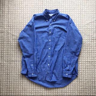 COMOLI - graphpaper トーマスメイソン ストライプシャツ ネイビー サイズ3