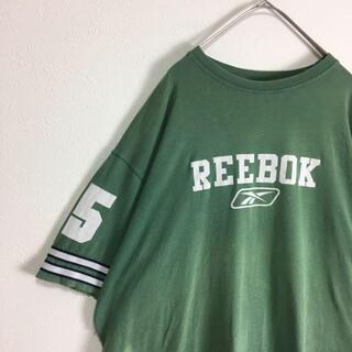 リーボック(Reebok)の【人気カラー】古着 Reebok Tシャツ アースカラー(Tシャツ/カットソー(半袖/袖なし))