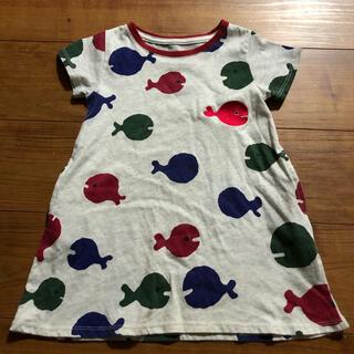 グラニフ(Design Tshirts Store graniph)のDesign Tshirts Store キッズ ワンピース 100cm(ワンピース)
